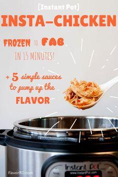 [Instant Pot] Insta-Chicken! Cooking from frozen