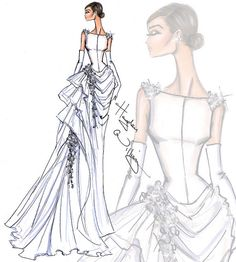 Bridal Couture 2014 by Hayden Williams: Look 2 by Fashion_Luva, via Flickr