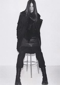 MICHAEL TINTIUC for HUGE MAGAZINE RICK OWENS 09FW CRUST /