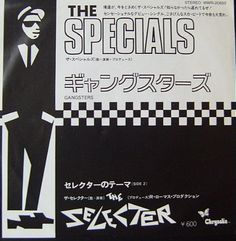 """The Specials - Gangsters 7"""" (1979)"""