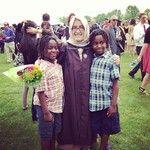 Proud graduate.