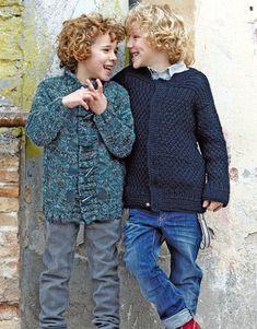 Heft Kinder 71 Herbst / Winter | 30: Kinder Jacke | Blau