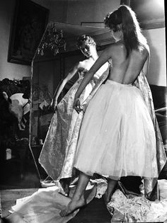 Brigitte Bardot, 50's.
