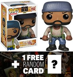 Tyrese Funko POP x Walking Dead Vinyl Figure  1 FREE Official Walking Dead Trading Card Bundle 42424 >>> Check this awesome product by going to the link at the image.