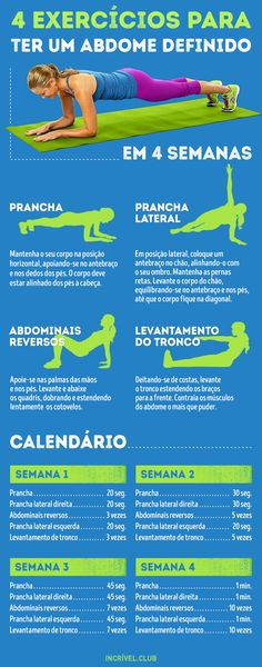 4 Ejercicios para tener un abdomen plano en tan solo 4 semanas Join the best fitness guides and strategies, lose weight fast and change your life for ever Yoga Fitness, Fitness Tips, Health Fitness, Fitness Exercises, Fitness Man, Belly Exercises, Workout Fitness, Fitness Fashion, Fitness Motivation