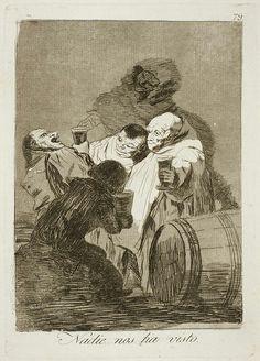 "Francisco Goya, ""Nessuno ci ha visti"", tavola n. 79 de ""Los Caprichos"", 1797-98 (pubblicato nel 1799), acquaforte e acquatinta. Madrid, Museo del Prado"