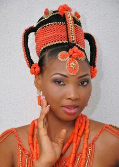 #PeopleOfNigeria   Igbo Bride   Source: costumeplanet.blogspot.co.uk