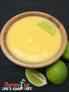 Thermomix Lime & Ginger Curd - ThermoFun