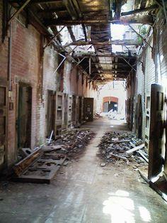 解体前の旧長崎刑務所②[2007/06/10]