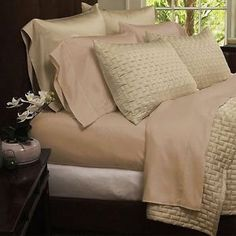 Bamboo Comfort 4-Piece Sheet Set 1800 Series Bedding - EXTRA SOFT DEEP SHEETS  $16.99  $49.99  (1604 Available) End Date: Apr 272016 07:59 AM GMT-07:00