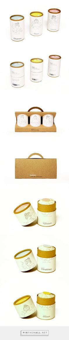 Moimo on Behance by Pedro Velazquez curated by Packaging Diva PD. Sweet illustrated soap packaging.