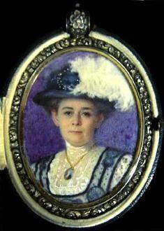 helen m. turner   Miniature by artist Helen M. Turner.