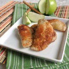 Cinnamon Apple Empanadas. Normally make with pumpkin but this would be good!