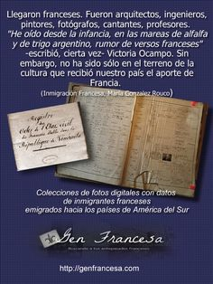 Registros de inmigrantes franceses en toda América Latina http://www.genfrancesa.com/inmigrantes/Nantes/index.html