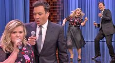 Country Music Lyrics - Quotes - Songs Kelly clarkson - Kelly Clarkson and Jimmy Fallon Sing 'Islands In The Stream'