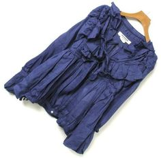 JUNYA WATANABE COMME des GARCONS Women s Ladies Tops Blue Size:SS AUTH Japan F/S