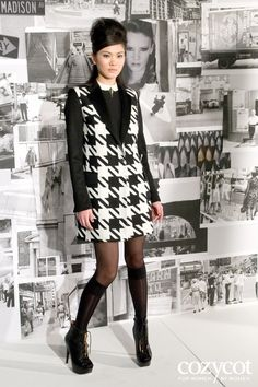 More modern day 1960's inspired fashion.