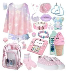 Vêtements Goth Pastel, Style Pastel, Pastel Goth Outfits, Pastel Goth Fashion, Pastel Outfit, Kawaii Fashion, Cute Fashion, Fashion Styles, Grunge Outfits