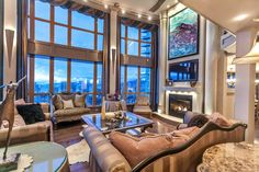 Tour a Three-Level Penthouse in Vancouver, Canada | 2016 | HGTV >> http://www.hgtv.com/design/ultimate-house-hunt/2016/international-homes/international-homes-three-level-penthouse-in-vancouver?soc=pinterest