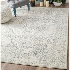 Found it at Wayfair - Vintage Mabelle Ivory Area Rug - bedroom?