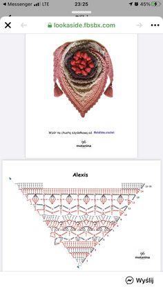 Crochet Shawl Diagram, Crochet Cap, Crochet Collar, Thread Crochet, Crochet Scarves, Crochet Clothes, Crochet Hooks, Crochet Lingerie, Beginner Crochet Projects