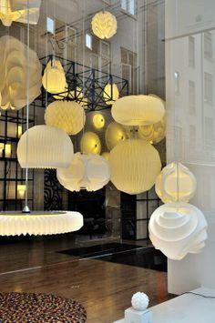 Copenhagen - Wandering and Window Shopping   Exploration Vacation - window display of lighting