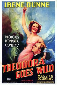 Directed by Richard Boleslawski.  With Irene Dunne, Melvyn Douglas, Thomas Mitchell, Thurston Hall. The author of a scandalously racy best-selling book tries to hide her celebrity from her provincial small town neighbors who'd be scandalized if they knew.