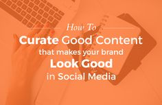 Groupiest curate good content and look good
