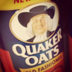The Quaker Oats guy has a name — Larry.