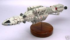 Ultra Probe Space 1999 Fictional Spacecraft Wood Model Large New