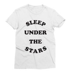 The Stars – My Main Tees Best way to reconnect with mother nature is to sleep under the stars. Also available in v-neck, tank and sweatshirt. Sleeping Under The Stars, Outer Space, Mother Nature, Babe, Shirt Designs, Sweatshirts, Tees, Mens Tops, Fashion