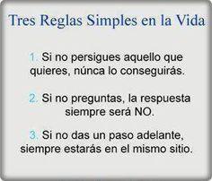 3 reglas de vida