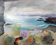 Winifred Nicholson - Sea Treasures (view from the house of Gavin Maxwell - who wrote Ring of Bright Water)