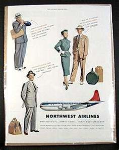 Vintage Northwest Airline