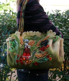 felt projects, free felted purse patterns, free purse patterns