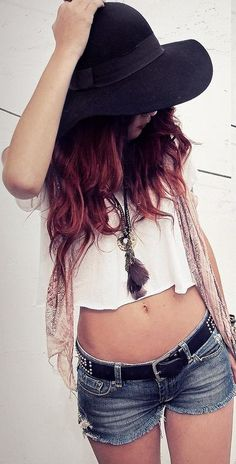 crop top. I'd love to dress like this