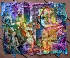 """""""Collage on Tyvek"""" by Bellesouth"""