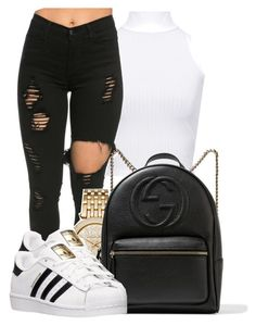 """""""Untitled #113"""" by ty-bands ❤ liked on Polyvore featuring WearAll, Michael Kors, Gucci and adidas"""