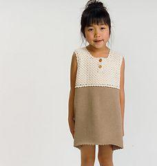 Ravelry: 210-22 Knit & Crochet Dress pattern by Pierrot (Gosyo Co., Ltd)