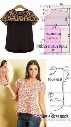 Free Sewing Sewing Hacks Sewing Projects Sewing Crafts Blouse Patterns Clothing Patterns T Dress Sewing Blouses Easy Sewing Patterns Dress Sewing Patterns, Blouse Patterns, Sewing Patterns Free, Clothing Patterns, Blouse Designs, Bag Patterns, Costura Fashion, Sewing Blouses, Make Your Own Clothes