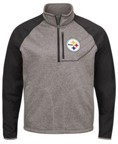 G-iii Sports Men s Pittsburgh Steelers Mountain Trail Player Lightweight  Jacket - Gray XL f36580322