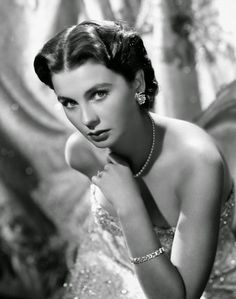 #JeanSimmons, 50's