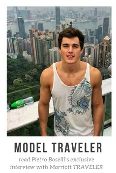 An exclusive interview with model Pietro Boselli.