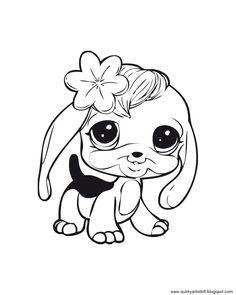 Quirky Artist Loft: Littlest Pet Shop - Free Printable Coloring Book