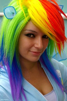 Rainbow Dash: The Best Flier In All Equestria! | SDCC 2012 #cosplay