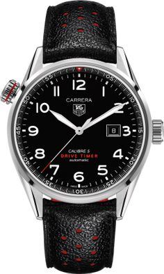 TAG Heuer Carrera Drive Timer $2500 Automatic Mens Watch
