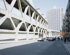 Pier Luigi Nervi, Washington Heights, Bus Station, George Washington Bridge, New York City, Street View, Architecture, Urban Landscape, Studio