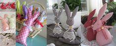 A húsvéti készülődéshez indulásnak gyűjtöttem néhány édes, textilből varrott nyuszit. A letölthető szabásmintákat is feltettem.