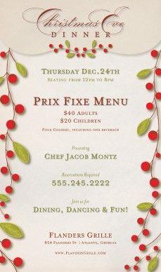 Customize mexican christmas menu christmas eve party pinterest more mexican christmas - Christmas menu pinterest ...