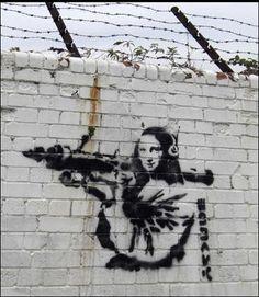 The 50 Greatest Banksy Works of All Time - 43. <em>Let Them Eat Crack</em>, 2008   Complex